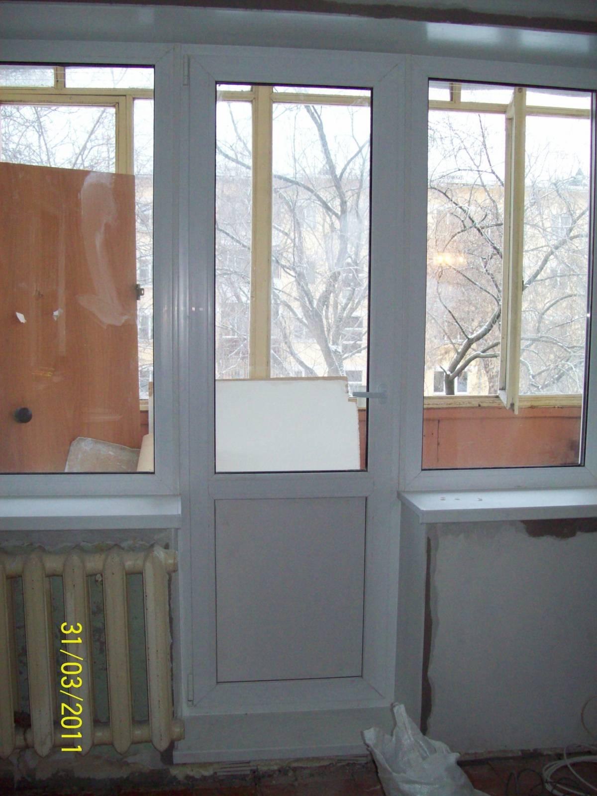 Балконный блок Чебурашка rehau sib 70мм 2100х2100 festima.ru.